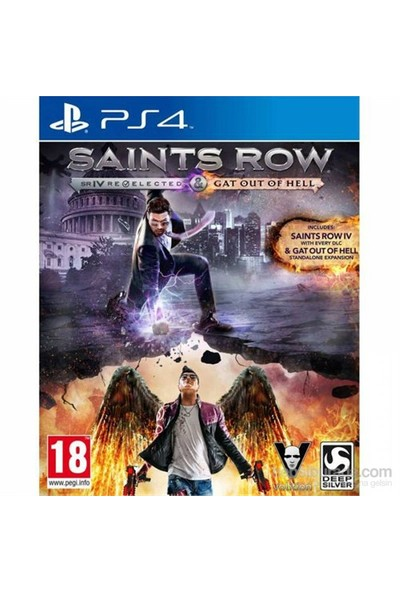 Saints Row 4 Re-Elected And Gat Out Of Hell Ps4 Oyun