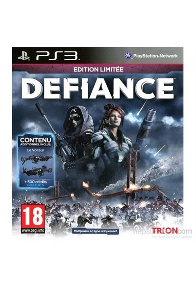 Defiance Limited Edition Ps3 Oyun