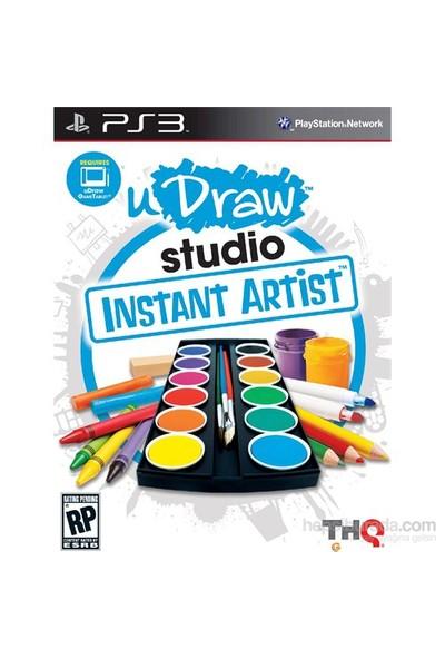 Udraw Studio İnstant Artist Ps3