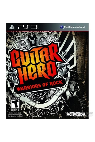 Guitar Hero 6 Warriors Of Rock Ps3 Oyun