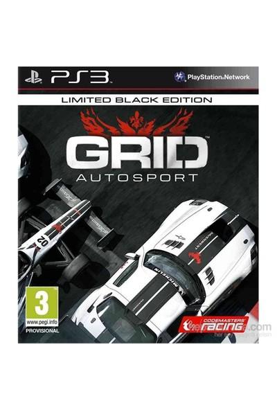 Grid Autosport Limited Black Edition