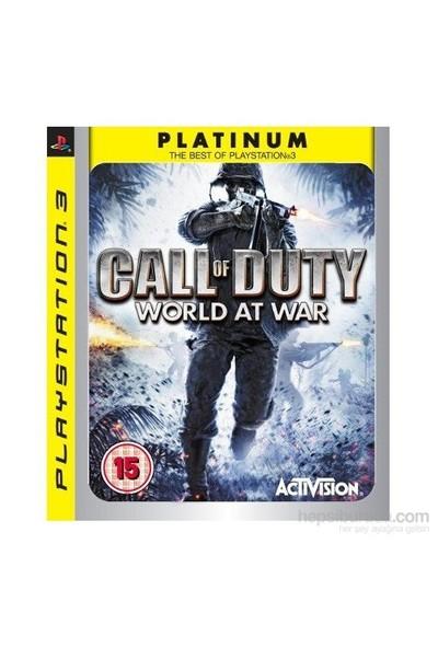 Call Of Duty Worl At War Ps3 Oyunu