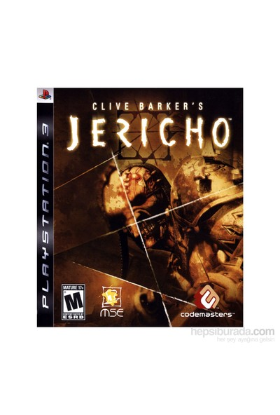Codemasters Clive Barker Jericho Ps3
