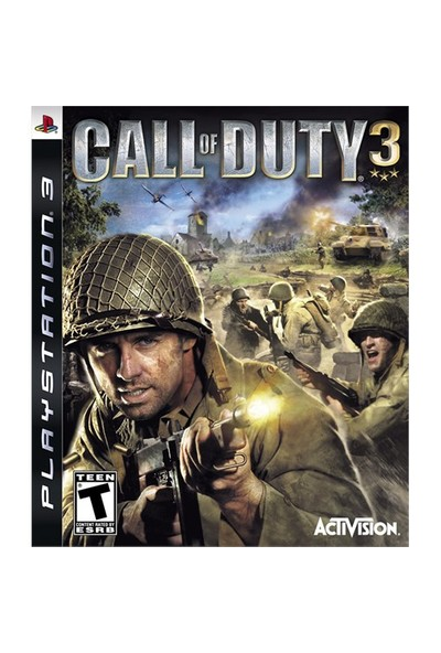 Activision Call Of Duty 3 Ps3