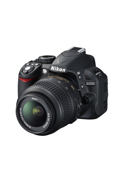 "Nikon D3100 18-55mm VR Kit 14.2 MP 3"" LCD DSLR Dijital Fotoğraf Makinesi"