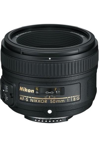 Nikon AF-S 50mm f/1.8 G Lens İthalatçı Garantili