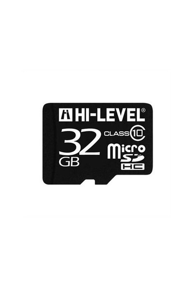 Hi-Level 32 Gb Hlv-Mcsdc10/32G Class 10 Micro Sd Kart