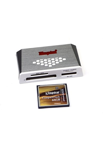 Kingston Usb3.0 Hi-Speed Kart Okuyucu Fcr-Hs4