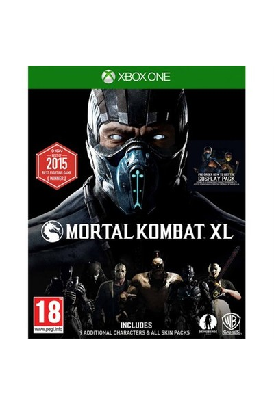 Warnerbros Xbox One Mortal Kombat Xl