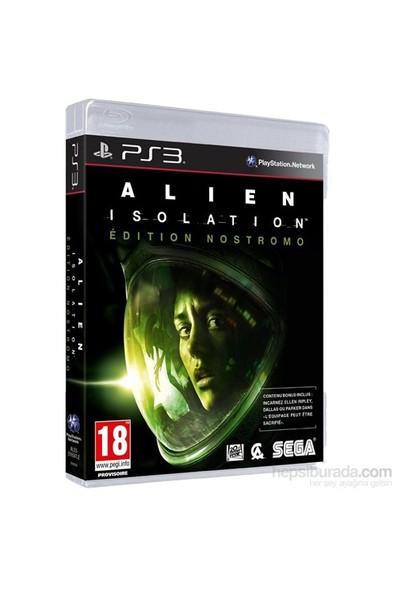 Alien İsolation Nostromo Edition PS3
