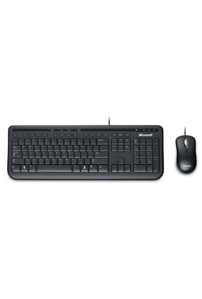 Microsoft Wired Desktop 600 Klavye Mouse Set (APB-00010)
