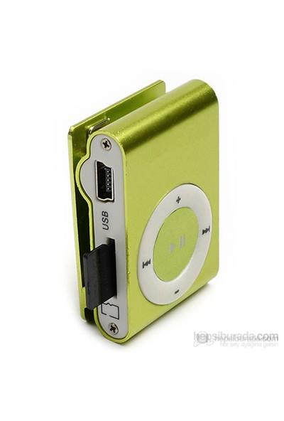 Player PL-101 8GB Mp3 Çalar - Yeşil