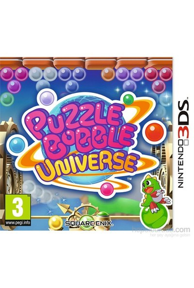Square Enix 3Ds Puzzle Bobble Unıverse