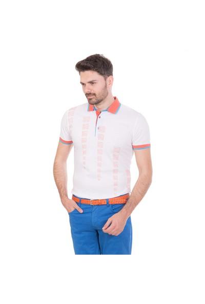 Toss Erkek Extra Slim Fit Pike T-Shirt Mercan