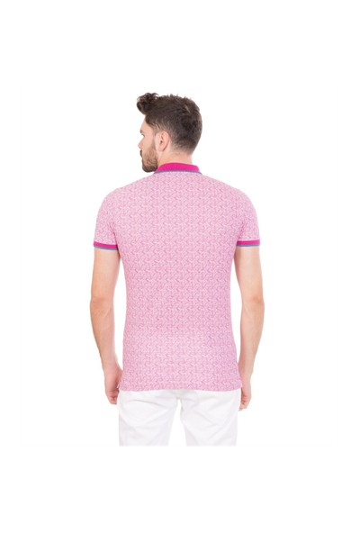 Toss Erkek Extra Slim Fit Pike T-Shirt Fuşya