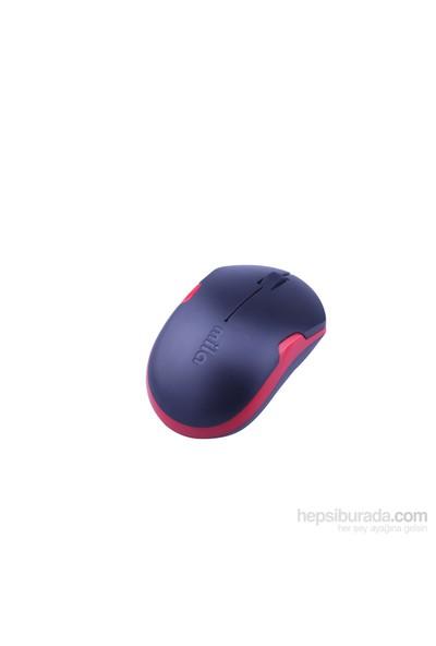 Classone Mila Kablosuz Siyah/Kırmızı Mouse (ML360)