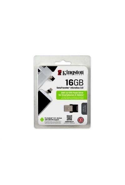Kingston 16 Gb Dtduo3/16Gb 3.0 Micro Duo Usb Bellek