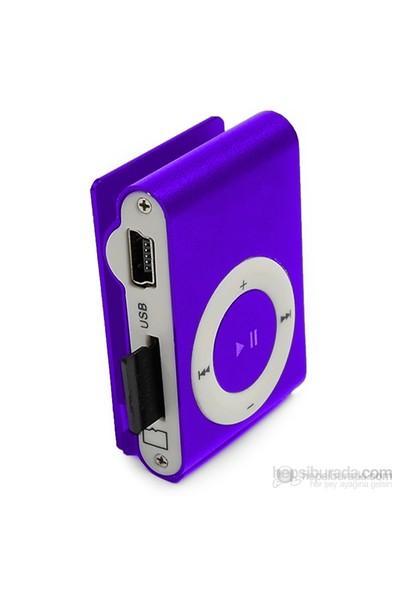 Player PL-101 8GB Mp3 Çalar - Mor
