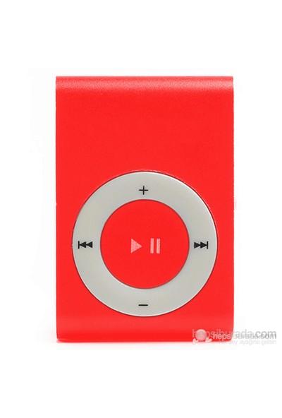 Player PL-101 8GB Mp3 Çalar - Kırmızı