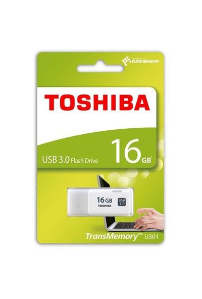 Toshiba Hayabusa 16GB USB 3.0 Beyaz USB Bellek
