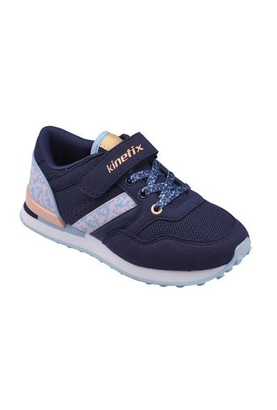 Kinetix A1291939 Lacivert Mercan Mavi Kız Çocuk Sneaker