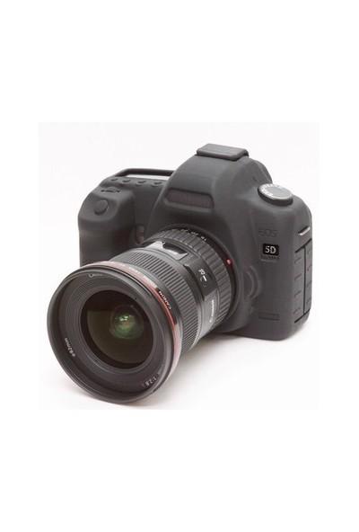 EasyCover Canon 5D Mark II Silikon Kılıf ECC5D2B (Siyah)