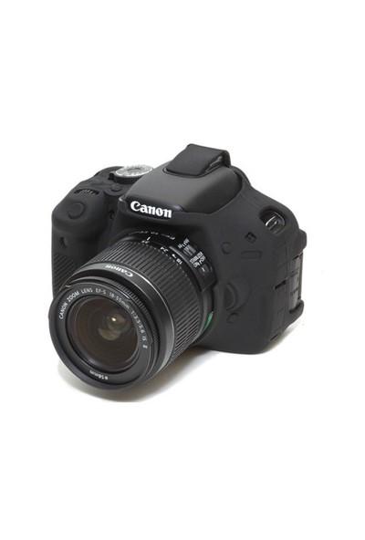 easyCover Silicon Case Canon 600D ECC600D ( Siyah )