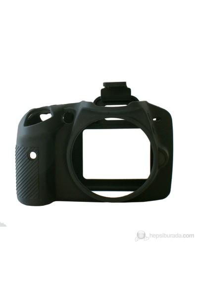 EasyCover Nikon D3200 Silikon Kılıf ECND3200B(Siyah)