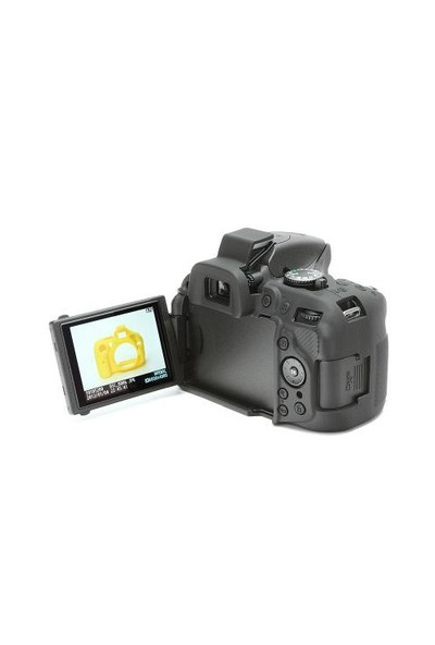 EasyCover Nikon D5200 Silikon Kılıf ECND5200 (Siyah)