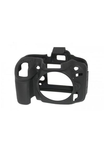 EasyCover Nikon D7100/D7200 Silikon Kılıf ECND7100B (Siyah)