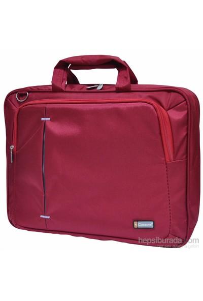 Classone UL162 15,6 inç Notebook El Çantası-Kırmızı