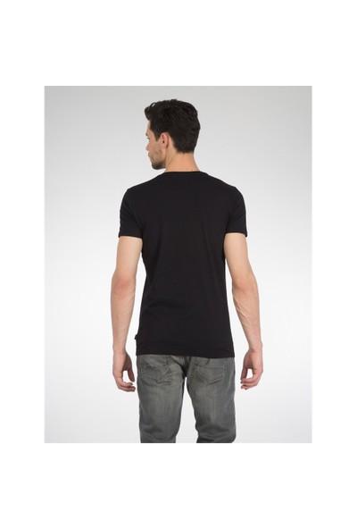 Colin's Siyah Erkek Tshirt Kısa Kol