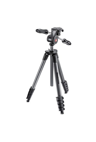 Manfrotto Compact Advanced Tripod (Çanta Hediyeli)