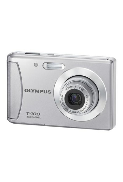 "Olympus T-100 12MP 2.4"" LCD Dijital Fotoğraf Makinesi(Bataryalı)"