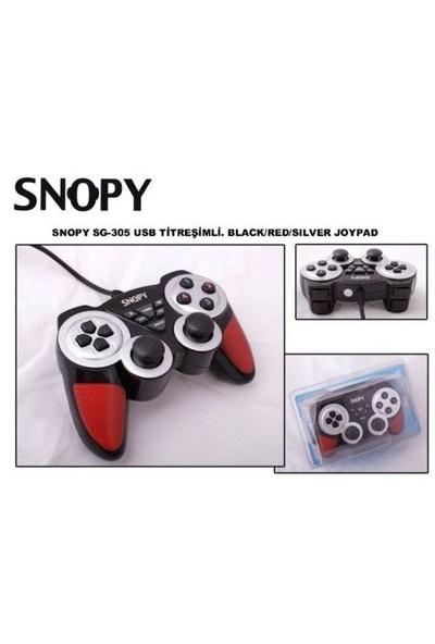 Snopy SG-305 Usb Titreşimli Gamepad
