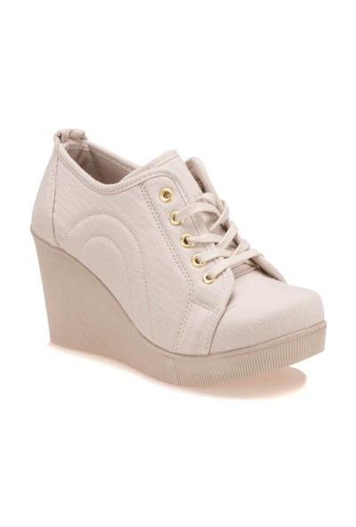 Art Bella 3585Fz Bej Kadın Ayakkabı