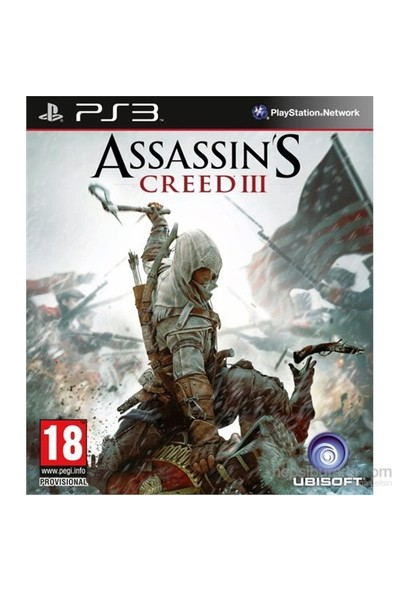 Assassin Creed III PS3
