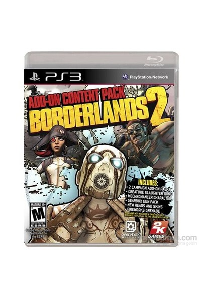 Borderlands 2 Add On Content Pack PS3