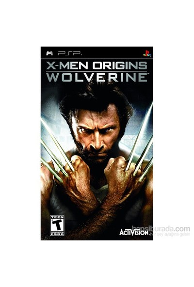 X-Men Origins Wolverine PSP