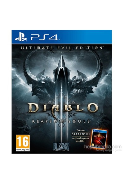 Diablo 3 Ultimate Evil Edition PS4 Oyun