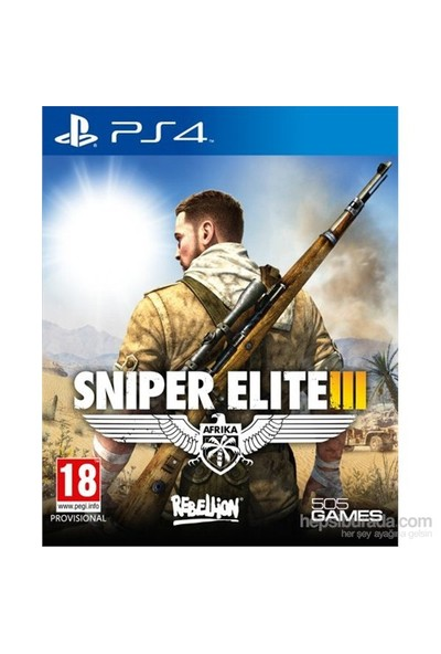 Sniper Elite 3 PS4 Oyun