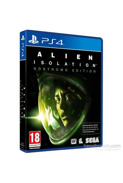 Alien İsolation Nostromo Edition PS4