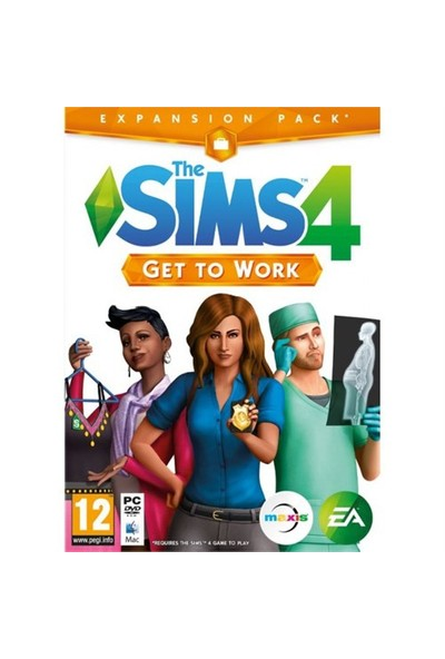 Ea Pc The Sıms 4 Get To Work