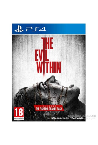 The Evil Within Limited Edition Including The Fighting Chance Pack PS4