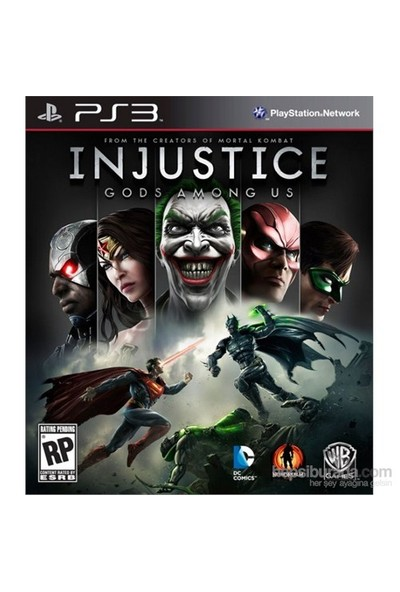Warner Bros Games Injustice Gods Among Us Ps3 Oyun