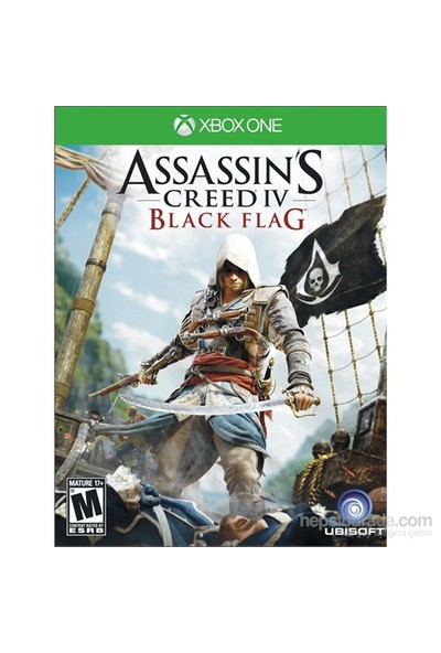 Ubisoft Assassins Creed 4 Black Flag Xbox One Oyun