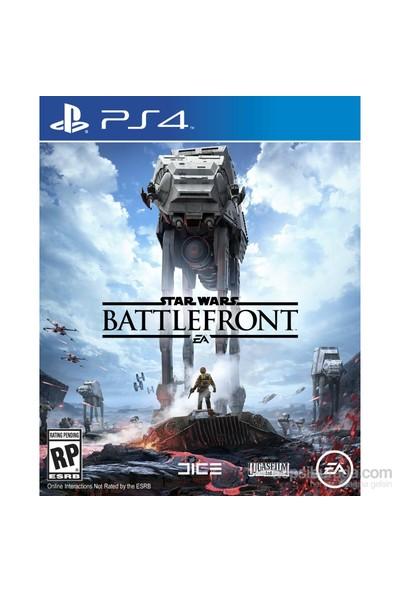 Star Wars Battlefront PS4 Oyun