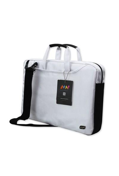 "M&W ColorDAY NB-1537-15--B 13,3""- 15,6"" Beyaz Ultrabook &Laptop Çantası"