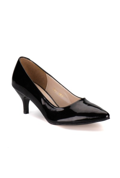 Polaris 61.307282Rz Siyah Kadın Ayakkabı