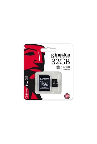 Kingston 32GB MicroSDHC Class10 UHS-I 45MB/s Hafıza Kartı SDC10G2/32GB